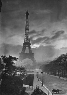 Eiffel Tower c. 1920s by Yvon