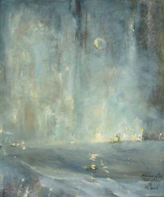 "Saatchi Online Artist Adrienne Silva; Painting, ""Portal (SOLD)"" #art"