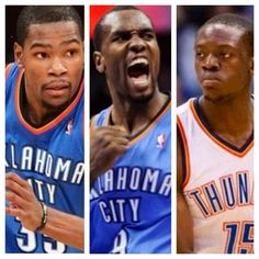 Durant with 30..Ibaka with 20 ...Jackson with 16.....