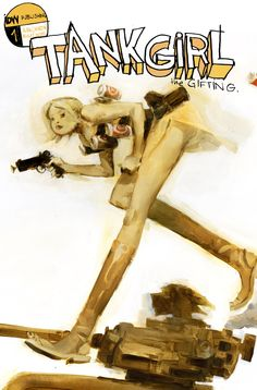 Tank Girl and Ashley Wood, just an example how two amazing worlds can come together and still seem so right!