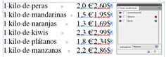 Textos condicionales en Indesign para listados de precios