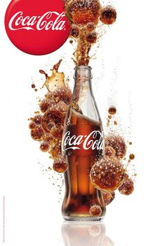 """Image detail for -Coca-Cola ads from campaign """"Open Happiness"""" Coca-Cola bubbles ..."""