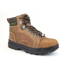 AdTec Men's 6-inch Steel-toed Hiker Boots