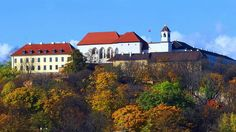 Špilberk castle in Brno (South Moravia), Czechia Star Fort, Historical Monuments, Europe Photos, Bratislava, Vacation Destinations, Prague, Czech Republic, Old Town, Budapest