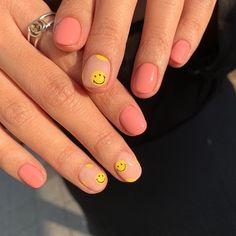 Simple Acrylic Nails, Best Acrylic Nails, Acrylic Nail Designs, Simple Nails, Fruit Nail Designs, Short Nail Designs, Nail Art Designs, Edgy Nails, Swag Nails