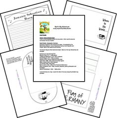 Bachs 's Big Adventure Unit and Printables..  Remember, use what you have, you don't have to purchase, for every new study you do..  And don't forget the library!!!