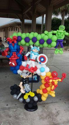Avengers  birthday number