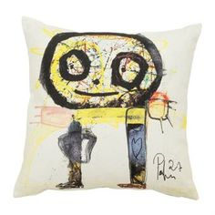 The colorful cushion cover Pojke meaning