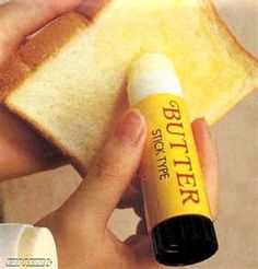 The Stick Butter Weird Invention on Weird Things. Genius!!