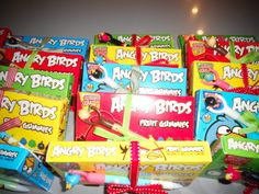 Angry Birds theme party favors!  Have to think of something quick!! Party on Sunday!