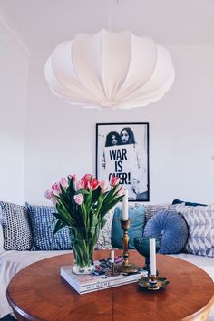Taklampa retro ECO off white 60 cm Decor, Home Decor Decals, Interior Design Living Room, Retro Home Decor, House Interior, Home Deco, Interior Inspiration, Decor Guide, Home Decor