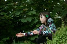 #40 Thank you to Rachael for a second entry to our photo competition. She says: 'Let their imagination run wild, catching woodland fairies!' Details on how to join at www.nationalchildrensdayuk.com
