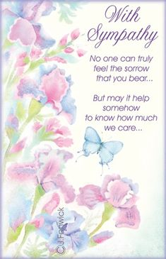 darice with sympathy embossing folder cards Sympathy Quotes For Loss, Sympathy Verses, Sympathy Card Sayings, Words Of Sympathy, Condolence Messages, Sympathy Wishes, Sympathy Notes, Words Of Condolence, Get Well Wishes