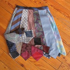 Make a skirt from all of those old ties!