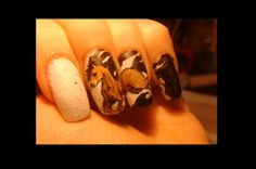 http://www.youtube.com/user/MesiaszCiszy  Mesi nail art on yt