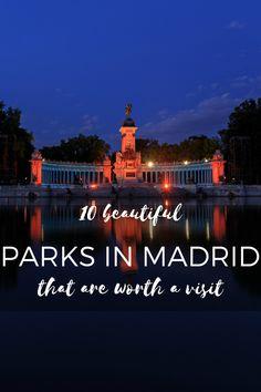 Madrid boasts tons of beautiful parks! madridfoodtour.com