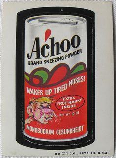 Achoo   OldBrochures.com
