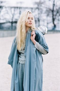 Vanessa Jackman: Paris Fashion Week AW 2015....Tanya