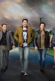 The Almighty Johnsons Poster. Set in NZ. Silly but fun.