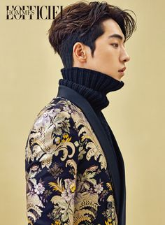 StyleKorea — Nam Joo Hyuk for L'Officiel Hommes Korea November.