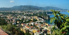 Panoramic view of Sorrento, Campania, Italian, Nikon Coolpix L310, 6.2mm, 1/200s,ISO80,f/9.4,-0.7, panorama mode: segment 2, HDR-Art photography, 201507140911