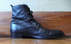 Ann Demeulemeester Archive - Ann D 2008 F/W Lace Up Boots - StyleZeitgeist