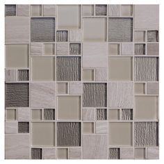 Eleganza Natural Stone And Glass Mosaic Wall Tile 112 X 12 At Menards