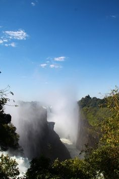 This week our consultants moved on from Chobe to Zimbabwe to explore the Victoria Falls and its many excitements. Victoria Falls, Seven Wonders, Holiday Destinations, Natural World, Continents, Waterfall, How Are You Feeling, African, The Incredibles