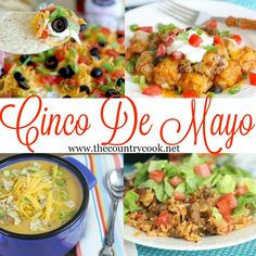 Recipes to Celebrate Cinco De Mayo - The Country Cook