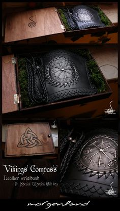 Vikings Compass and gift box by *morgenland