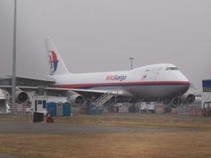 MASkargo 747-400 freighter  Type: Boeing 747-4H6F/SCD Registration: 9M-MPR Location: Christchurch International Airport Date: 26/12/2012