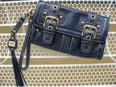It's not easy to find photos of old bags on the net.   #Rafe for Target Wristlet