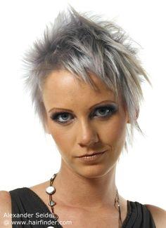 Moda Cabellos: Pelo color gris - 2016