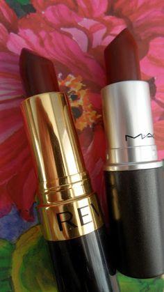 Will Work for Makeup: Revlon Black Cherry = $ MAC Media