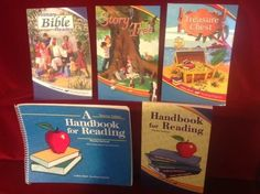 Abeka Handbook for Reading Student & Teacher, Primary Bible, Story Tree, 1 more #Textbook