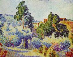 "Henri-Edmond Cross - ""Paysage de Bormes"""