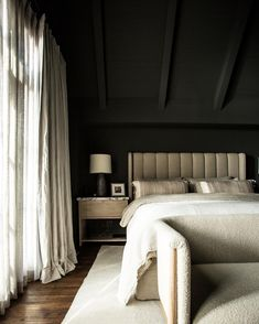Bedroom Inspo, Home Bedroom, Master Bedroom, Bedroom Decor, Bedrooms, Bedroom Inspiration, Hollywood Bedroom, West Hollywood, Hollywood California