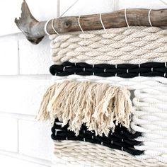 Knots & Knits | Le Freedom Woven Wallhanging | www.knotsandknits.com