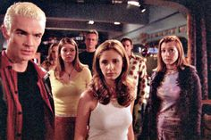 27 things you never knew about Buffy the Vampire Slayer   Read more: http://www.digitalspy.co.uk/tv/feature/a590811/27-things-you-never-knew-about-buffy-the-vampire-slayer.html#ixzz3RSBIc24w  Follow us: @digitalspy on Twitter | digitalspyuk on Facebook