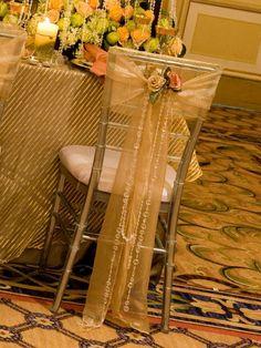 Sheer Gold Wedding | BBJ Linen
