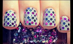 Cute dot nails