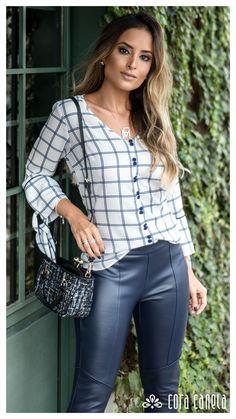 Office Fashion Women, Womens Fashion For Work, Moda Chic, Mod Dress, Urban Outfits, Fashion Over 50, Street Style Women, Site Wordpress, Fashion Clothes