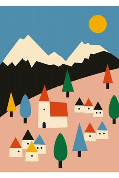 http://www.thekidwho.eu/collections/decorating/products/anna-kovecses-landscape-poster