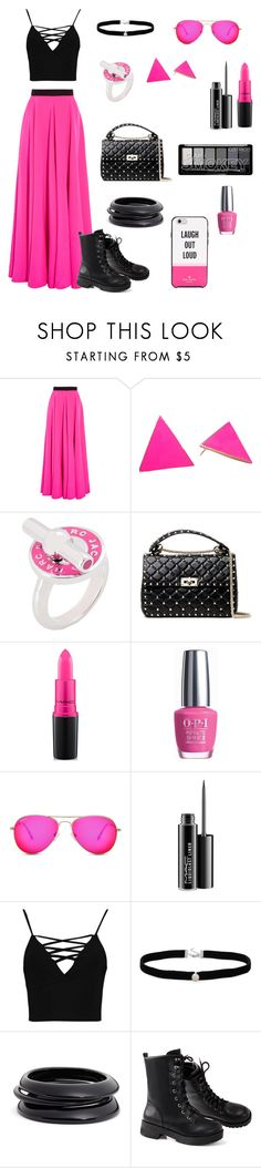 """Teen style!"" by martina-b33 ❤ liked on Polyvore featuring Roksanda, Marc by Marc Jacobs, Valentino, MAC Cosmetics, OPI, Boohoo, Amanda Rose Collection, ZENZii and Kate Spade"