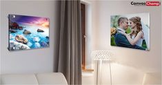 Print your photos on Acrylic with 3 easy steps. Acrylic printing displays your pictures with best quality. Transform your space with custom acrylic prints at CanvasChamp. Acrylic Photo Prints, Print Your Photos, Acrylic Display, Acrylic Canvas, New Print, Custom Photo, Your Space, Bold Colors, Decor Styles