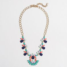 J.Crew Factory - Factory parade fan necklace $34.50