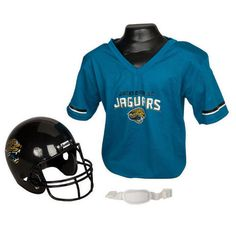 Jacksonville Jaguars Youth NFL Helmet and Jersey Set 6248f65c9