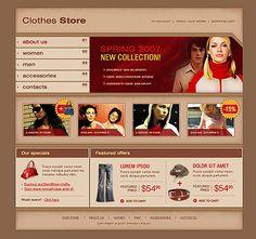 Online Shop SWiSH Templates by Viola