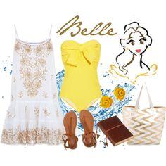 Belle beach day