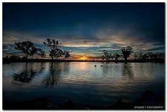 Katoomba Pond, Canberra, Australia